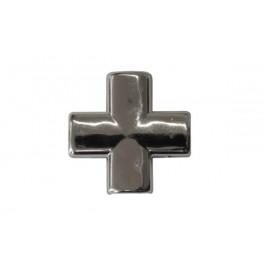 Krzyżak z taśmą Z-22 srebro