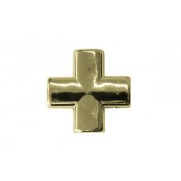 Krzyżak z taśmą Z-22 złoto