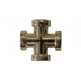 Krzyżak z taśmą Z-24 złoto