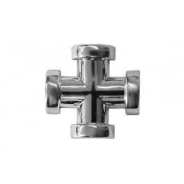 Krzyżak z taśmą Z-24 srebro