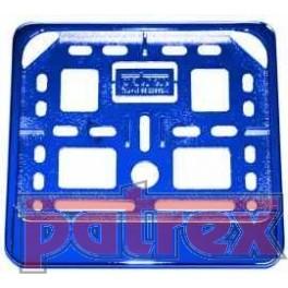 Podkładka pod tablicę rejestracyjną Skuter Niebieski połysk