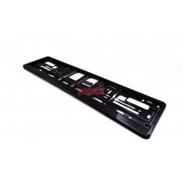 Podkładka pod tablicę rejestracyjną Czarny mat