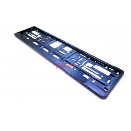 Podkładka pod tablicę rejestracyjną Ciemny niebieski połysk