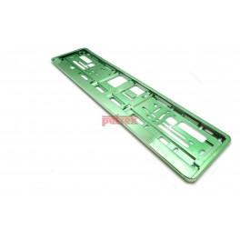 Podkładka pod tablicę rejestracyjną Zielony połysk